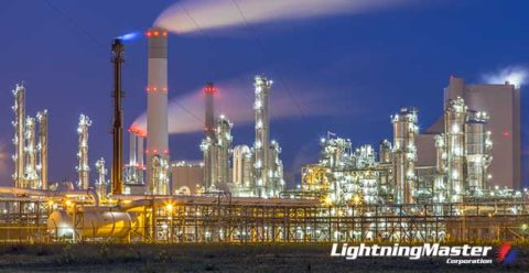 Chemical-Plant-Lightning-Protection