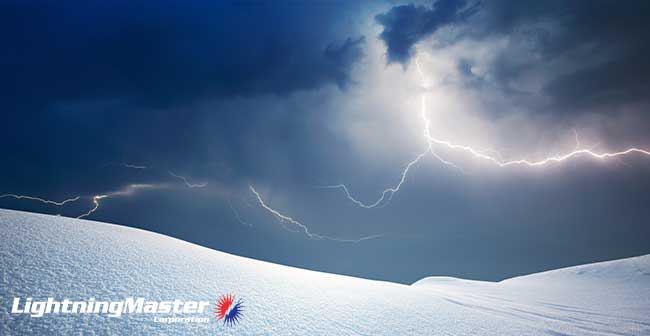 Information About Winter Lightning Storms